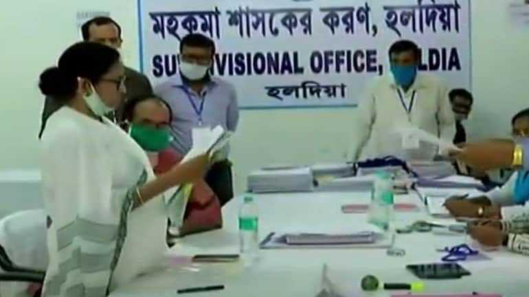 Mamata Banerjee files her nomination as TMC candidate from Nandigram