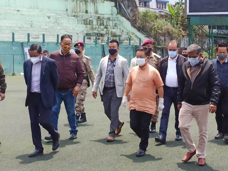 Sikkim govt sets up new COVID care centres